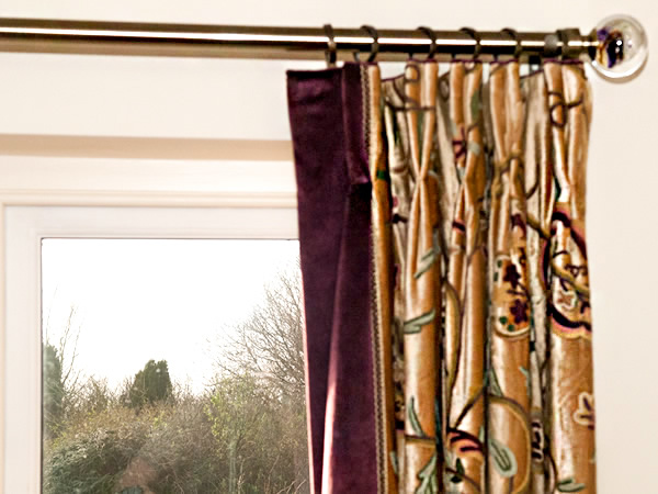 HAND DOUBLE PLEAT CURTAINS